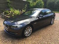 2010 60 BMW 5 SERIES 520 2.0 TD 184 DIESEL 6 SPEED MANUAL SALOON /58mpg £110 TAX