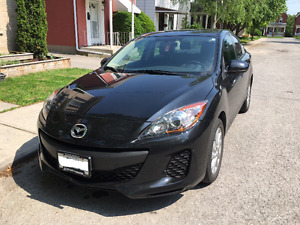 2013 Mazda3 - Low Mileage, Great Condition