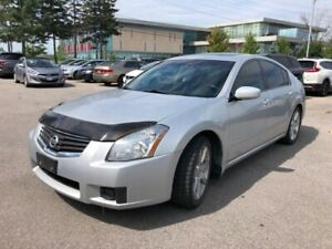 2007 Nissan Maxima SE, leather, sunroof, V-6, no accidents