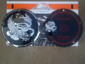 Harley TwinCam Derby and Timer Cover