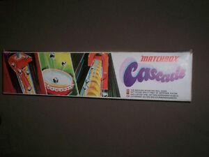 """""""CASCADE"""" 1972 MATCHBOX MARBLE GAME COMPLETE IN BOX"""
