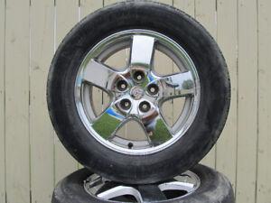 Mags chrome Dodge 16 pouces
