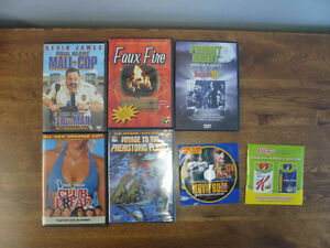 DVD LOT - HORROR, SCIENCE FICTION, COMEDY, EXERCISE, RETRO