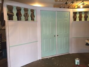 Wedding doors for entrance to outdoor ceremony