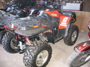 Linhai 400 SE 4x4 ATV with independent suspension
