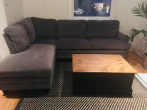Gently used, clean L-couch