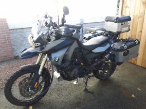2009 F800GS fully loaded for Adventure
