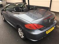 2005/6 PEUGEOT 307 CC 1.6 S CONVERTIBLE [CLEARANCE PRICED] FULL MOT..LOW MILES