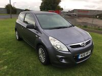 61 REG HYUNDAI i20 1.2 CLASSIC 3DR-FULL HISTORY-2 KEYS-REALLY SMART LOOKING CAR DRIVES WELL