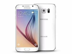 Samsung Galaxy s6 32gb Black/white/gold Unlocked in Mint Condition!