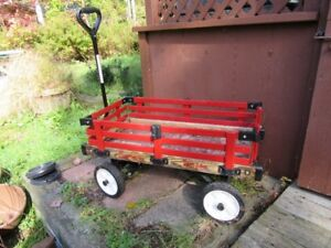 WAGON - WOODEN - REDUCED!!!!