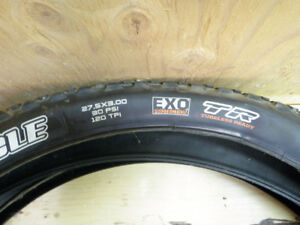 Maxxis Chronicle 27.5 x 3 plus tires - brand new