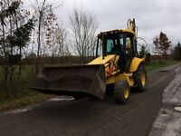 Snow Plowing, back Hoe, pressure wash system