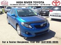 2010 Toyota Corolla S Sport  - Certified - Accident Free - Alloy