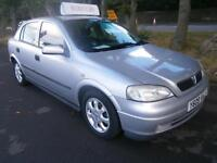 Vauxhall/Opel Astra 1.6i ( a/c ) 2001MY Club in silver