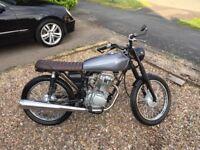 Honda CG125 Custom Brat Tracker Motorbike