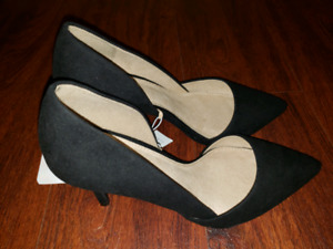 BNWT - Women's Old Navy Black D'Orsay Pumps - Size 7