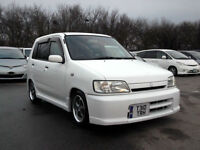 VERY RARE COLLECTOR ITEM 1st GENERATION NISSAN CUBE 1.3 AUTOMATIC MICRA PX SWAP