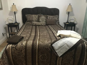 Ensemble literie double/grand NEUF/NEW double/queen bedding set