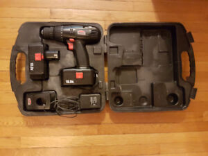 Jobmate 18V Cordless Drill with Case