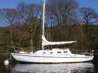 Short break holiday opportunity on 28' sailing boat on Windermere