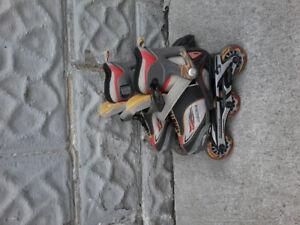 Kids adjustable roller blades