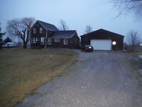 2 Bedroom plus den country property house for rent
