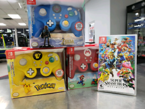 GameCube Style Nintendo Switch Pro Controllers