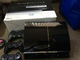 Playstation 3 and 49 games