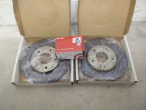 Chrysler, Dodge, Jeep, front brake rotors and Brembo pads