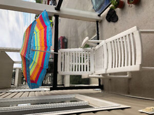 Lounge chair and umbrella for sale!!