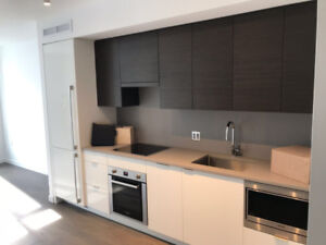BRAND NEW 1 Bedroom + Den w/parking Vancouver Olympic Village