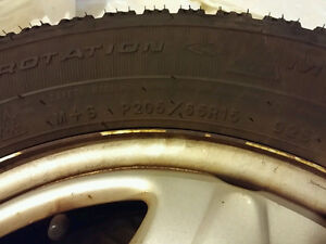 P205/65R15 Tires and Rims (4)