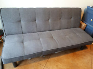 Grey Convertible Sofa Klik Klak Design