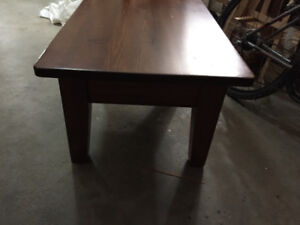Solid Wood Coffee Table, priced to sell!