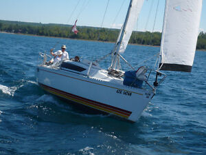 Cruiser/Racing sailboat for sale. Make me a reasonable offer.