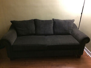 7 month old couch. Dark grey, Belleville Belleville Area image 1
