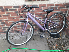 Small adult / teen bike