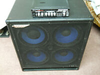 Bass Cab 4 -10 Ashdown 650 watts - Genz Benz Shuttle STL9-0