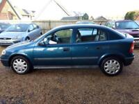 2001 Vauxhall/Opel Astra 1.6i (a/c) Club/FULL SERVICE HISTORY/LOW MILES 88k