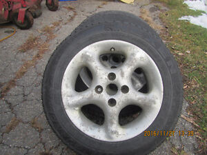 pnes hiver avec mags 4x100 toyota echo West Island Greater Montréal image 2