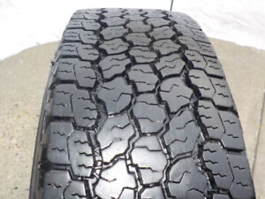 4 - Goodyear Wrangler tires LT245/70R/17 A/T Adventure , E rated