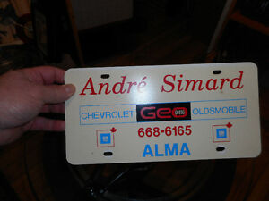 3 plaques vintage de concessionnaires GM et Chrysler Saguenay Saguenay-Lac-Saint-Jean image 3