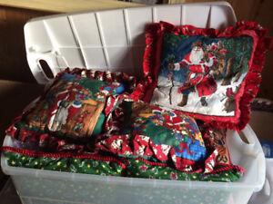 Christmas pillows!