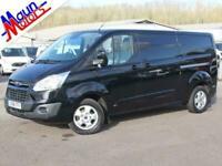 2018 Ford Transit Custom 290 TDCi 130PS Limited, Euro 6, LWB, Low Roof Panel Van