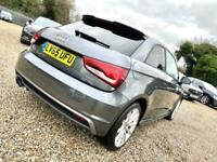 2015 Audi A1 1.4 TFSI S line S Tronic Semi Auto Hatchback Petrol Automatic