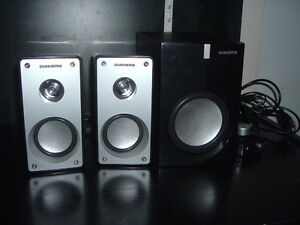 DUNHERM DH-R10 2.1 SPEAKERS W/SUBWOOFER