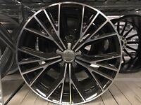 "19"" alloy wheels alloys rims seat skoda Audi Vw Volkswagen 5x112"