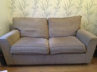 2 seater sofa bed and sofa from next