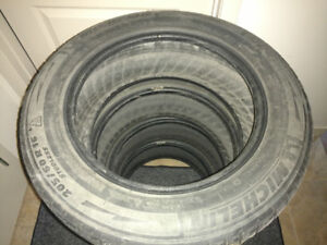 Set of Four Michelin X-Ice 205-60-16 Winter Tires